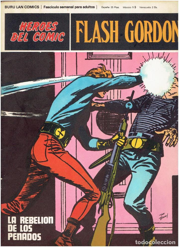 Cómics: * FLASH GORDON * HEROES DEL COMIC * EDICIONES BURULAN 1971 * LOTE FASCICULOS 12 Nº OFERTA * - Foto 15 - 206126503
