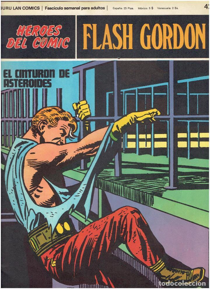 Cómics: * FLASH GORDON * HEROES DEL COMIC * EDICIONES BURULAN 1971 * LOTE FASCICULOS 12 Nº OFERTA * - Foto 16 - 206126503