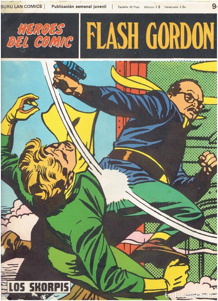 Cómics: * FLASH GORDON * HEROES DEL COMIC * EDICIONES BURULAN 1971 * LOTE FASCICULOS 12 Nº OFERTA * - Foto 18 - 206126503