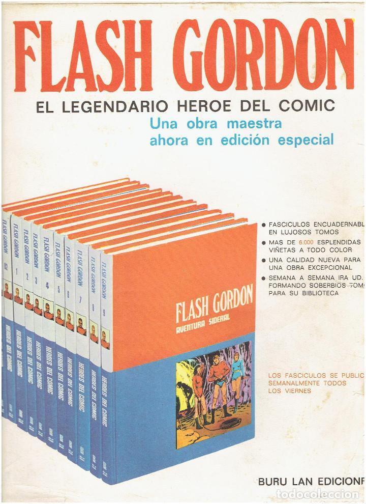 Cómics: * FLASH GORDON * HEROES DEL COMIC * EDICIONES BURULAN 1971 * LOTE FASCICULOS 12 Nº OFERTA * - Foto 19 - 206126503