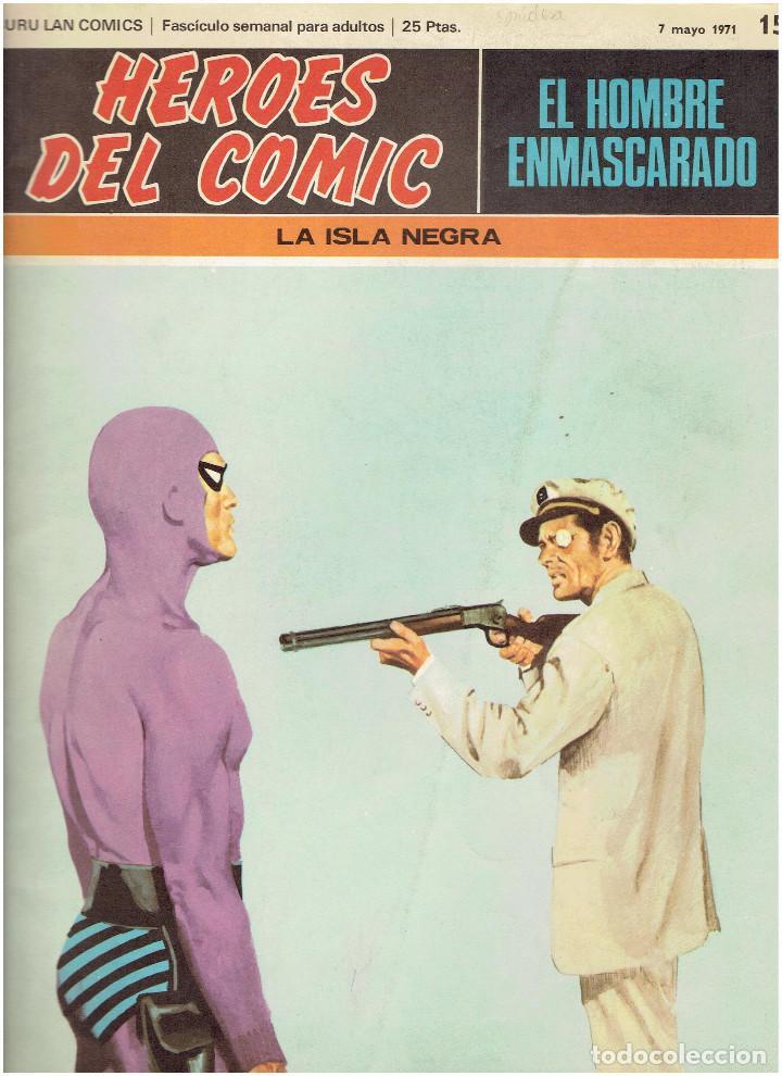 Cómics: * EL HOMBRE ENMASCARADO * HEROES DEL COMIC * EDICIONES BURULAN 1971 * LOTE FASCICULOS 9 Nº OFERTA * - Foto 4 - 206152493