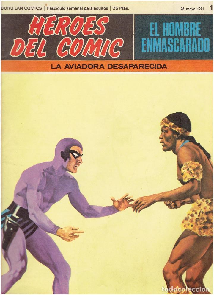 Cómics: * EL HOMBRE ENMASCARADO * HEROES DEL COMIC * EDICIONES BURULAN 1971 * LOTE FASCICULOS 9 Nº OFERTA * - Foto 7 - 206152493