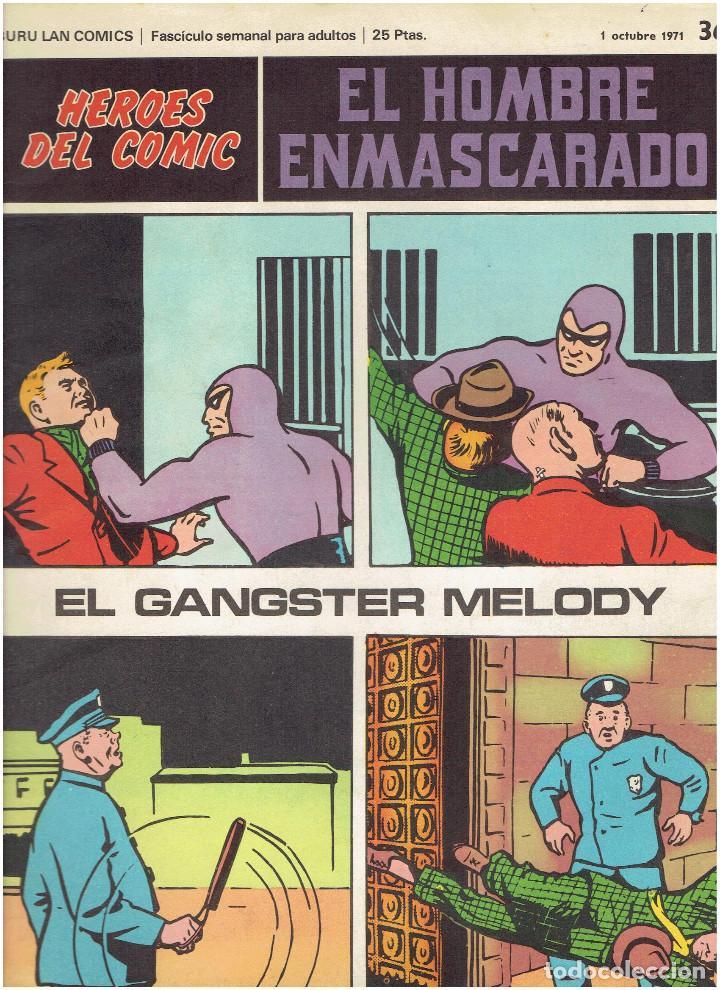 Cómics: * EL HOMBRE ENMASCARADO * HEROES DEL COMIC * EDICIONES BURULAN 1971 * LOTE FASCICULOS 9 Nº OFERTA * - Foto 8 - 206152493