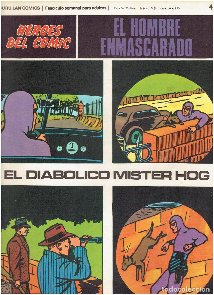Cómics: * EL HOMBRE ENMASCARADO * HEROES DEL COMIC * EDICIONES BURULAN 1971 * LOTE FASCICULOS 9 Nº OFERTA * - Foto 9 - 206152493