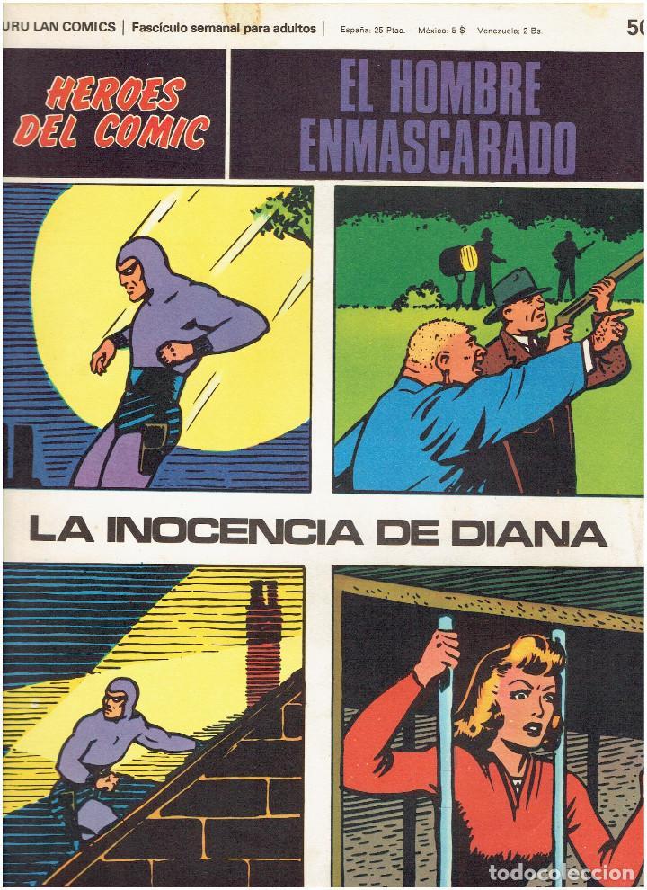 Cómics: * EL HOMBRE ENMASCARADO * HEROES DEL COMIC * EDICIONES BURULAN 1971 * LOTE FASCICULOS 9 Nº OFERTA * - Foto 10 - 206152493