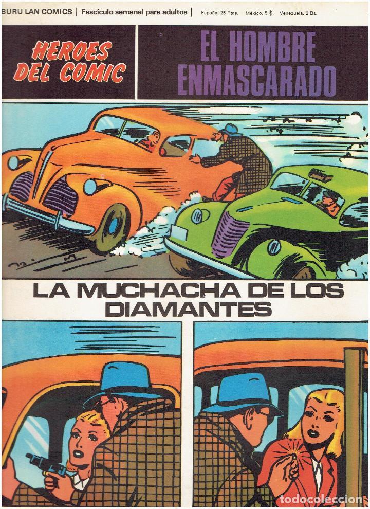 Cómics: * EL HOMBRE ENMASCARADO * HEROES DEL COMIC * EDICIONES BURULAN 1971 * LOTE FASCICULOS 9 Nº OFERTA * - Foto 11 - 206152493