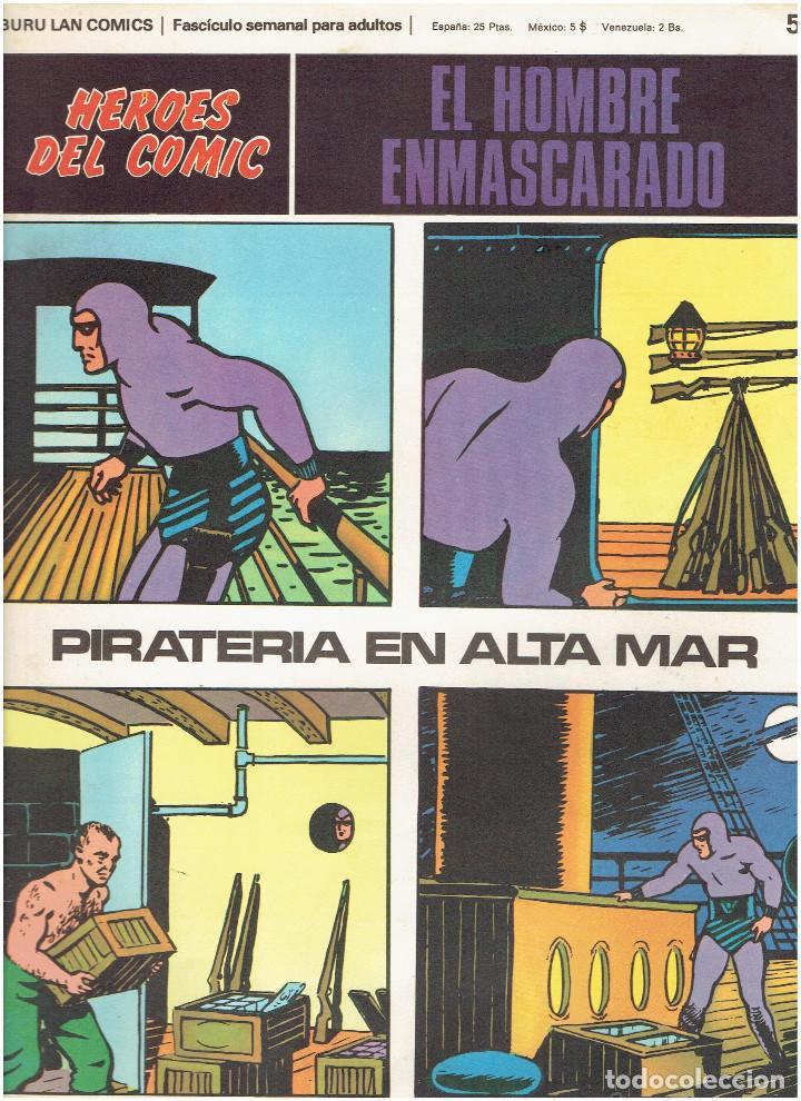 Cómics: * EL HOMBRE ENMASCARADO * HEROES DEL COMIC * EDICIONES BURULAN 1971 * LOTE FASCICULOS 9 Nº OFERTA * - Foto 12 - 206152493