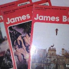 Cómics: * JAMES BOND * COLECCION AGENTES SECRETOS * EDICIONES BURULAN 1974 * LOTE FASCICULOS 3 Nº OFERTA *. Lote 206155677