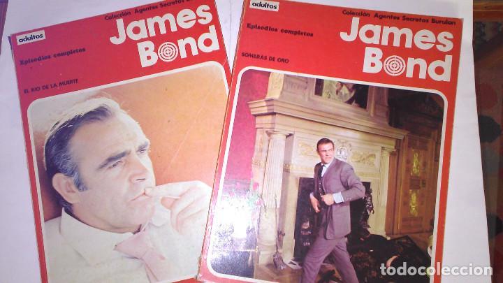* JAMES BOND * COLECCION AGENTES SECRETOS * EDICIONES BURULAN 1973 * EPISODIOS COMPLETOS LOTE 2 Nº * (Tebeos y Comics - Buru-Lan - James Bond)