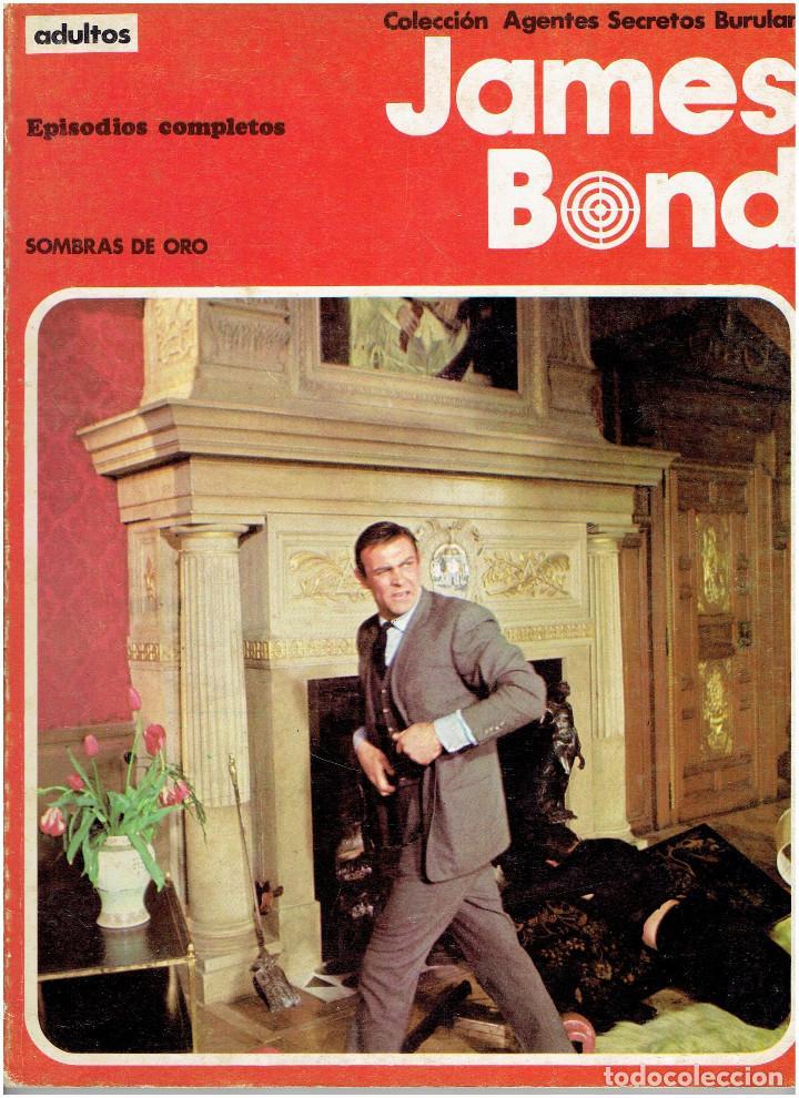 Cómics: * JAMES BOND * COLECCION AGENTES SECRETOS * EDICIONES BURULAN 1973 * EPISODIOS COMPLETOS LOTE 2 Nº * - Foto 2 - 206171428