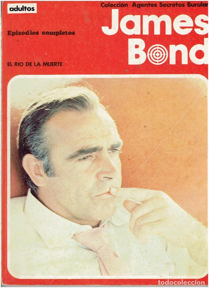 Cómics: * JAMES BOND * COLECCION AGENTES SECRETOS * EDICIONES BURULAN 1973 * EPISODIOS COMPLETOS LOTE 2 Nº * - Foto 3 - 206171428