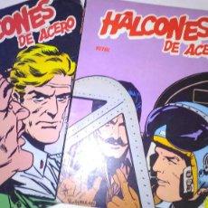 Cómics: * HALCONES DE ACERO * EDICIONES BURULAN 1973 * EPISODIOS COMPLETOS LOTE DE 2 ALBUMES *. Lote 206175203