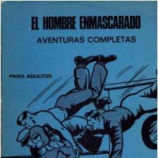 Cómics: * EL HOMBRE ENMASCARADO * HEROES DEL COMIC * EDICIONES BURULAN 1971 * ALBUM FASCICULOS 1 AL 6 *. Lote 206180246