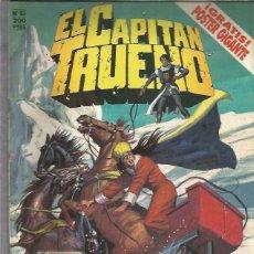 Cómics: EL CAPITAN TRUENO 83 CON POSTER. Lote 206335118