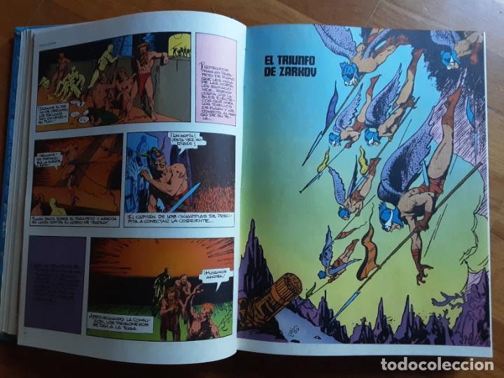 Cómics: FLASH GORDON TOMO ENCUADERNADO, LA TIERRA EN PELIGRO, HOMBRES HALCONES, EL TRIUNFO DE ZARKOV... - Foto 4 - 206424226
