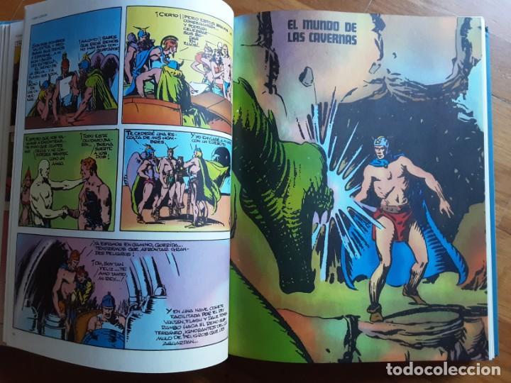 Cómics: FLASH GORDON TOMO ENCUADERNADO, LA TIERRA EN PELIGRO, HOMBRES HALCONES, EL TRIUNFO DE ZARKOV... - Foto 5 - 206424226