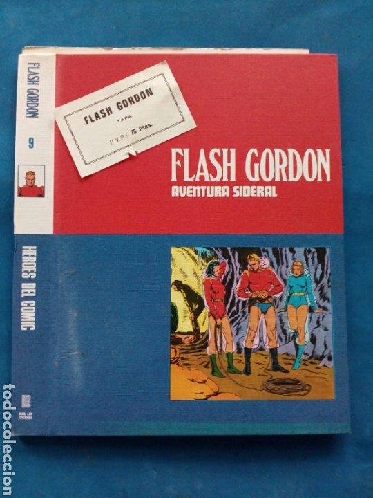 FLASH GORDON , TAPAS PARA ENCUADERNAR ,N° 9 AÑOS 1960 (Tebeos y Comics - Buru-Lan - Flash Gordon)