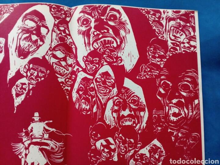 Cómics: Drácula , tapas para encuadernación , años 1970 , Ediciones Burulan - Foto 2 - 206568411