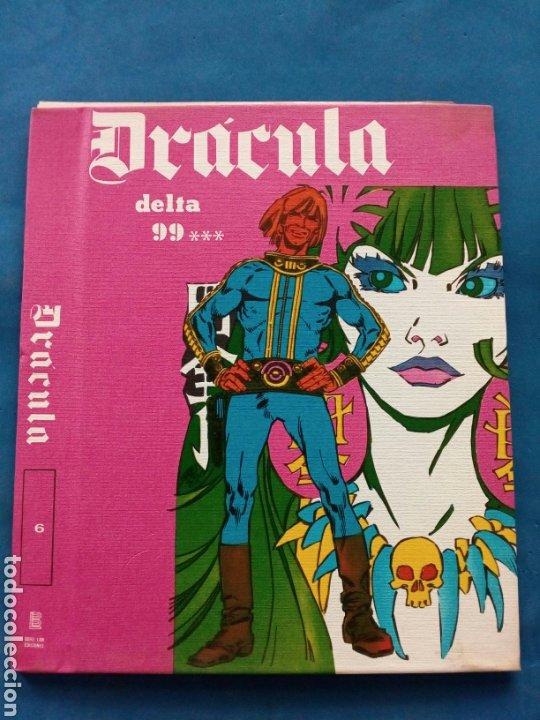 DRÁCULA , TAPAS PARA ENCUADERNACIÓN , AÑOS 1970 , EDICIONES BURULAN (Tebeos y Comics - Buru-Lan - Drácula)