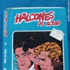 Cómics: HÁLCONES DE ACERO , TAPAS ARA ENCUADERNACIÓN, AÑOS 1970 , EDICIONES BURULAN. Lote 206568768