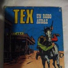 Cómics: TEX UN ROBO AUDAZ Nº 34 EDIZIONE ARALDO 1972. Lote 206582447