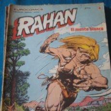 Cómics: COMIC RAHAN N 20 DE BRULAN EN BUEN ESTADO. Lote 206777330