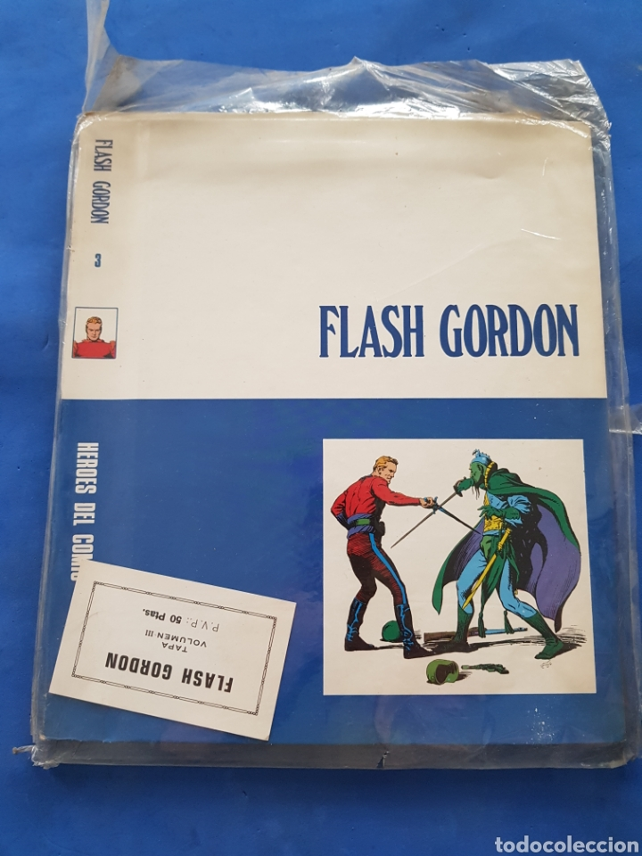 FLASH GORDON,TAPAS PARA LE ENCUADERNACIÓN ,VOLUMEN III, AÑOS.1960 (Tebeos y Comics - Buru-Lan - Flash Gordon)