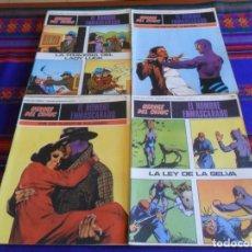 Cómics: HÉROES DEL CÓMIC EL HOMBRE ENMASCARADO 010 6 7 8 9 11 12 13 14 15 16 57 58 59 60. BURU LAN 1972. BE.. Lote 207381247