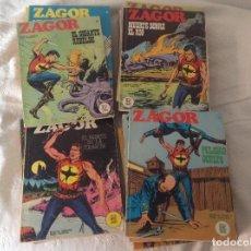 Cómics: ZAGOR BURU LAN LOTE 38 NUMEROS DEL 1 AL 41.. Lote 207381897