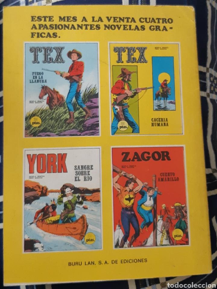 Cómics: TEBEOS COMICS GOYO - TEX 18 - BURU LAN - 1A. EDICIÓN - AA99 - Foto 3 - 207620676