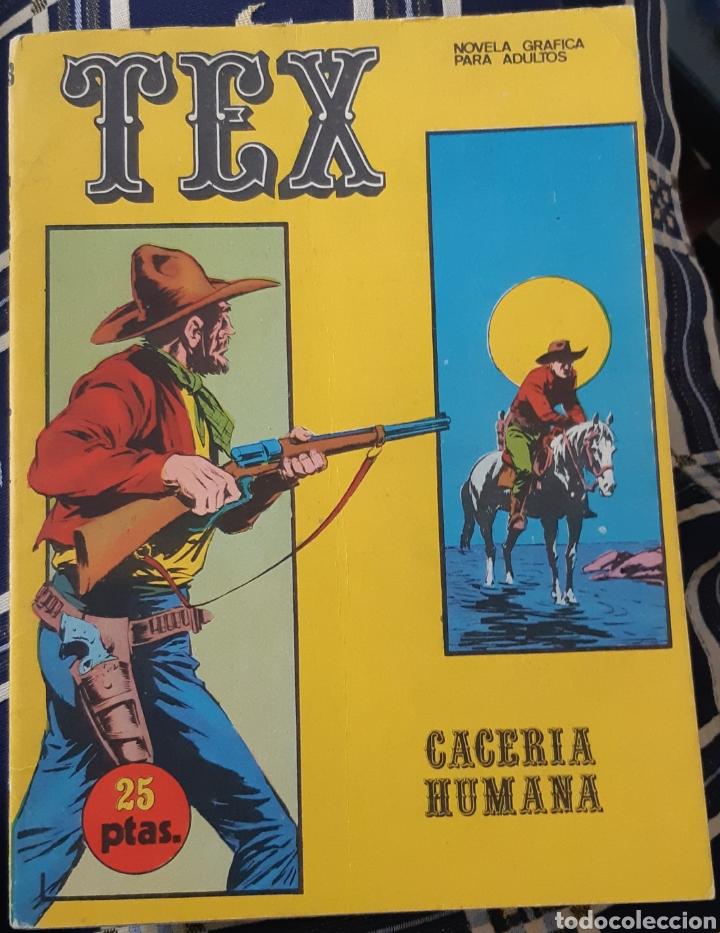 TEBEOS COMICS GOYO - TEX 18 - BURU LAN - 1A. EDICIÓN - AA99 (Tebeos y Comics - Buru-Lan - Tex)