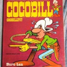 Cómics: COCOBILL 1. JACOVITTI. BURU LAN, HEROES DE PAPEL, 1973. Lote 208351941