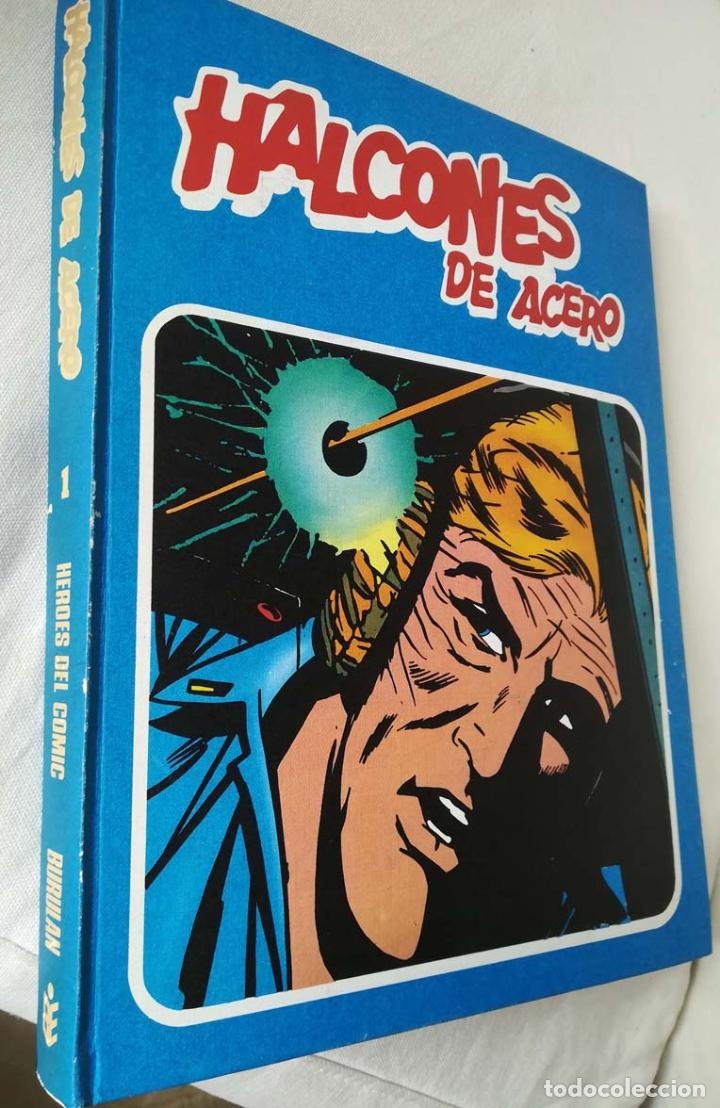 HALCONES DE ACERO, TOMO 1, BURU LAN (Tebeos y Comics - Buru-Lan - Halcones de Acero)