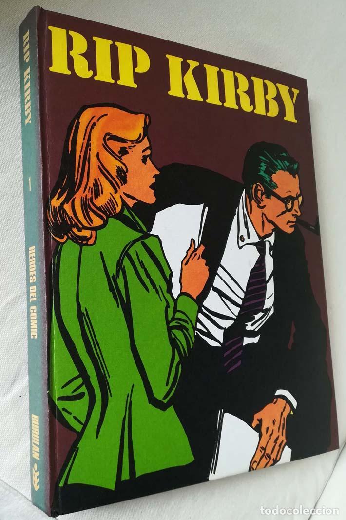 RIP KIRBY, TOMO 1, BURU LAN (Tebeos y Comics - Buru-Lan - Rip Kirby)