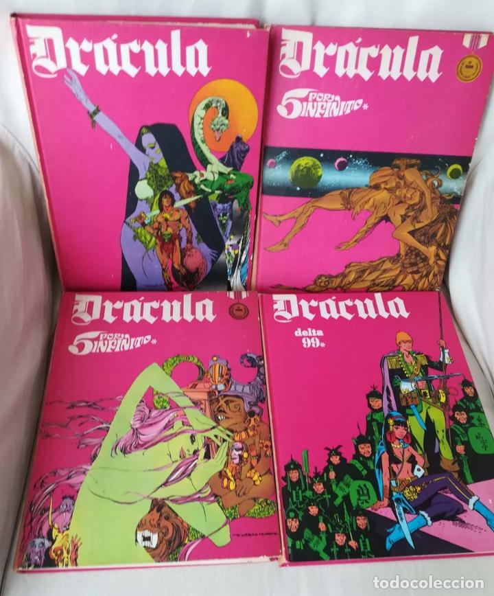 DRACULA, TOMOS 1 2 3 Y 4, BURU LAN (Tebeos y Comics - Buru-Lan - Drácula)
