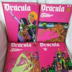 Cómics: DRACULA, TOMOS 1 2 3 Y 4, BURU LAN. Lote 208857956