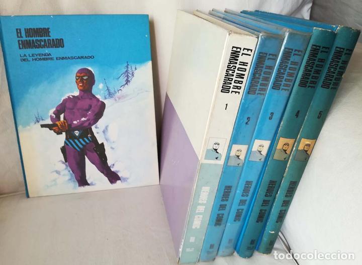 EL HOMBRE ENMASCARADO, 6 TOMOS , BURU LAN (Tebeos y Comics - Buru-Lan - Flash Gordon)