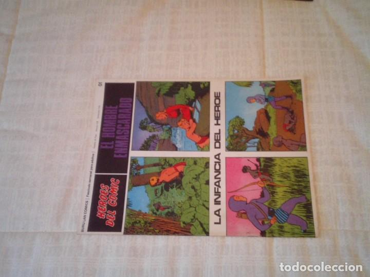 Cómics: EL HOMBRE ENMASCARADO - BURU LAN - 96 FASCICULOS - MUY BUEN ESTADO - COMPLETA - GORBAUD - Foto 7 - 209029080