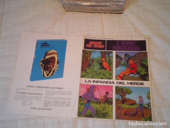 Cómics: EL HOMBRE ENMASCARADO - BURU LAN - 96 FASCICULOS - MUY BUEN ESTADO - COMPLETA - GORBAUD - Foto 10 - 209029080