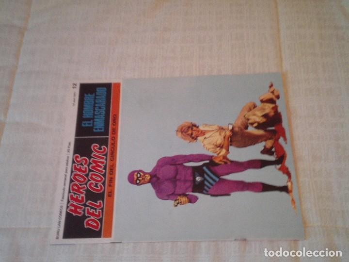 Cómics: EL HOMBRE ENMASCARADO - BURU LAN - 96 FASCICULOS - MUY BUEN ESTADO - COMPLETA - GORBAUD - Foto 20 - 209029080