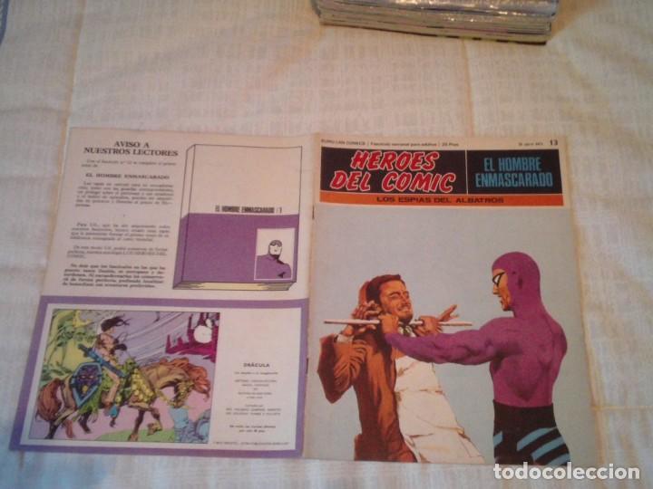 Cómics: EL HOMBRE ENMASCARADO - BURU LAN - 96 FASCICULOS - MUY BUEN ESTADO - COMPLETA - GORBAUD - Foto 27 - 209029080