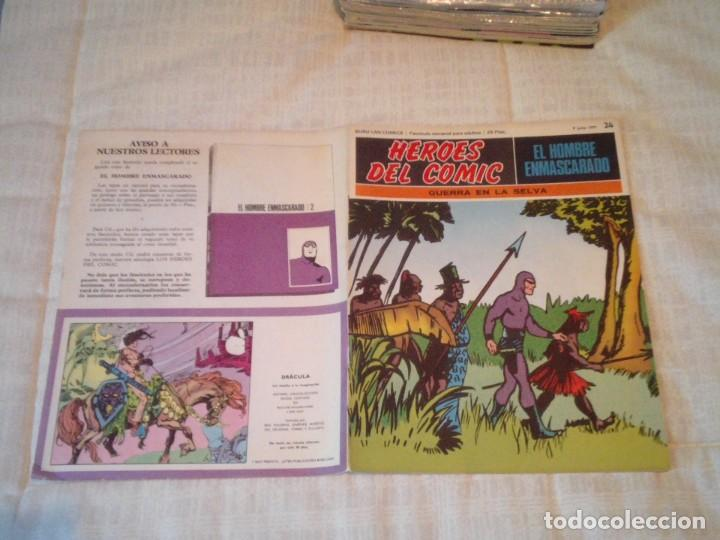 Cómics: EL HOMBRE ENMASCARADO - BURU LAN - 96 FASCICULOS - MUY BUEN ESTADO - COMPLETA - GORBAUD - Foto 36 - 209029080