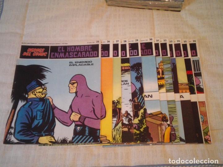 Cómics: EL HOMBRE ENMASCARADO - BURU LAN - 96 FASCICULOS - MUY BUEN ESTADO - COMPLETA - GORBAUD - Foto 41 - 209029080