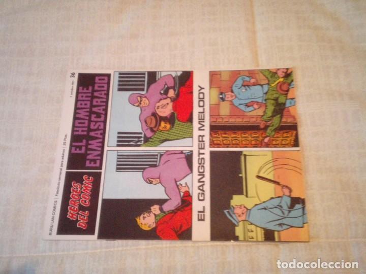 Cómics: EL HOMBRE ENMASCARADO - BURU LAN - 96 FASCICULOS - MUY BUEN ESTADO - COMPLETA - GORBAUD - Foto 42 - 209029080