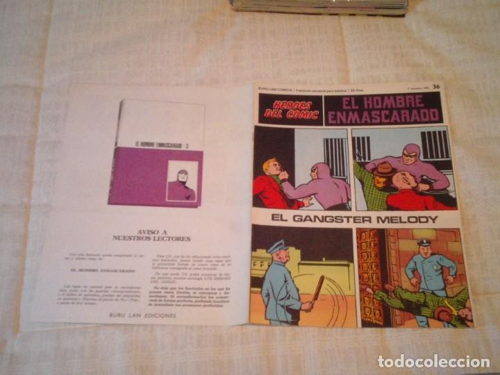 Cómics: EL HOMBRE ENMASCARADO - BURU LAN - 96 FASCICULOS - MUY BUEN ESTADO - COMPLETA - GORBAUD - Foto 47 - 209029080