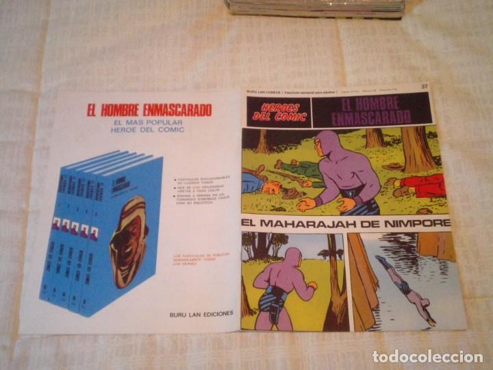 Cómics: EL HOMBRE ENMASCARADO - BURU LAN - 96 FASCICULOS - MUY BUEN ESTADO - COMPLETA - GORBAUD - Foto 51 - 209029080