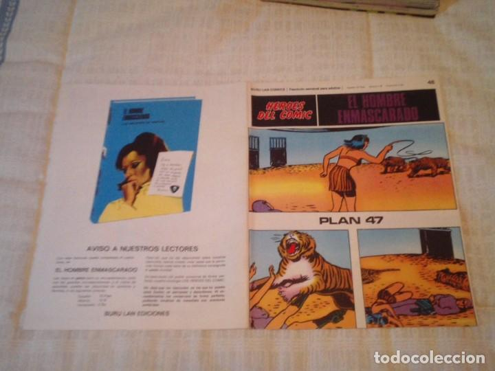 Cómics: EL HOMBRE ENMASCARADO - BURU LAN - 96 FASCICULOS - MUY BUEN ESTADO - COMPLETA - GORBAUD - Foto 56 - 209029080