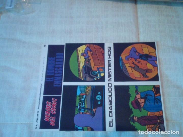 Cómics: EL HOMBRE ENMASCARADO - BURU LAN - 96 FASCICULOS - MUY BUEN ESTADO - COMPLETA - GORBAUD - Foto 57 - 209029080