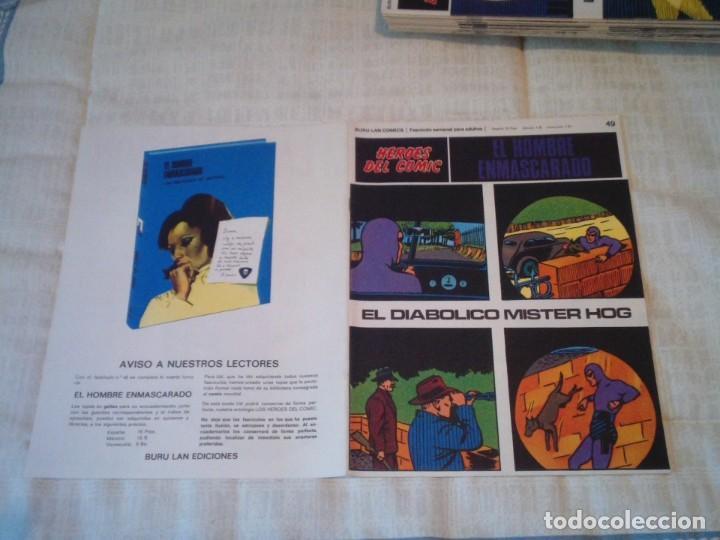 Cómics: EL HOMBRE ENMASCARADO - BURU LAN - 96 FASCICULOS - MUY BUEN ESTADO - COMPLETA - GORBAUD - Foto 60 - 209029080
