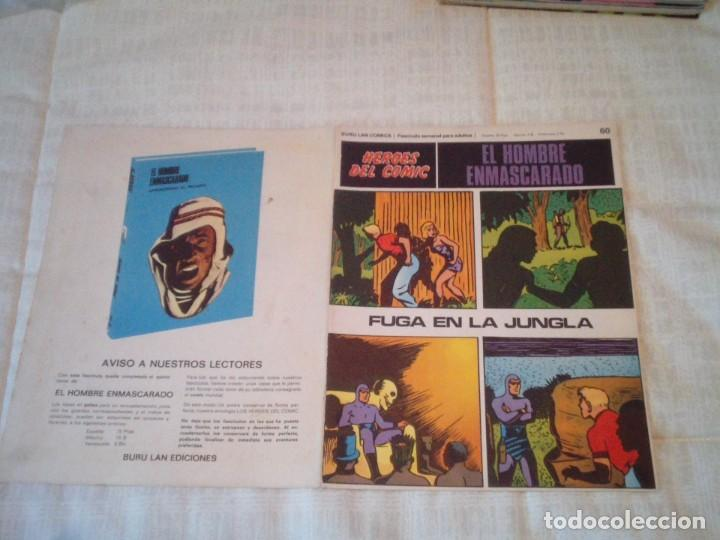 Cómics: EL HOMBRE ENMASCARADO - BURU LAN - 96 FASCICULOS - MUY BUEN ESTADO - COMPLETA - GORBAUD - Foto 65 - 209029080